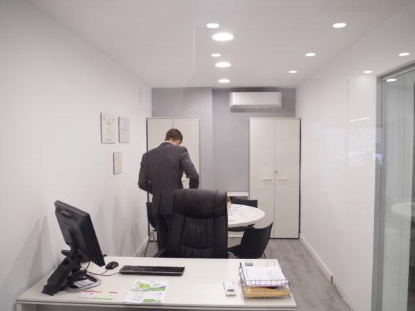 Vista despacho